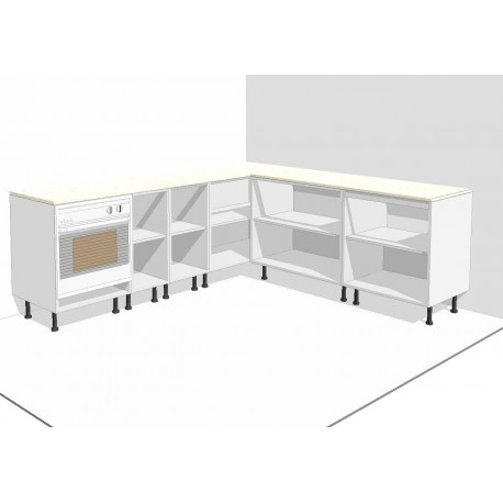 Muebles cocina Altos y Bajos