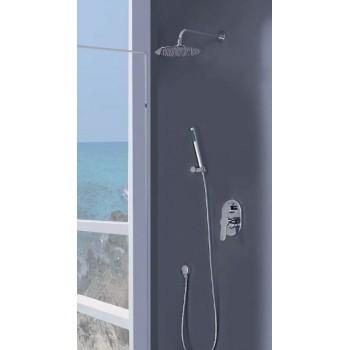 Conjunto de ducha empotrado...